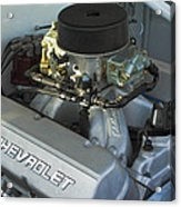 Chevrolet Engine Acrylic Print