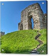Christchurch Castle Acrylic Print