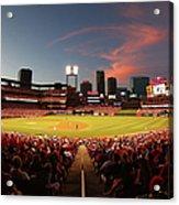 Cincinnati Reds V St Louis Cardinals Acrylic Print