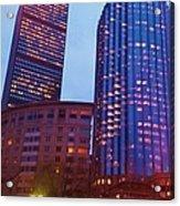 city of Boston Acrylic Print