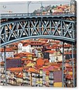 City Of Porto In Portugal Acrylic Print