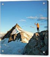 Climbing Cypress Peak Acrylic Print