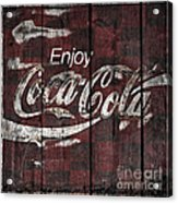 Coca Cola Sign Acrylic Print