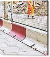 Construction Site Acrylic Print