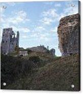 Corfe Castle Acrylic Print