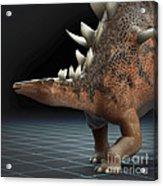 Dinosaur Kentrosaurus Acrylic Print