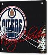 Edmonton Oilers Acrylic Print