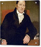 Eli Whitney (1765-1825) Acrylic Print