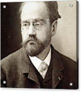 Emile Zola (1840-1902) Acrylic Print