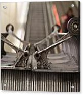 Escalator Construction Works Acrylic Print