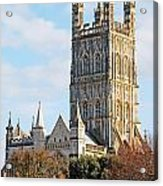 Gloucester Cathedral Acrylic Print