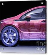 Hybrid Car Acrylic Print