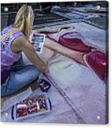 Lake Worth Street Painting Festival Acrylic Print