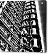 Lloyd's Of London Building Acrylic Print