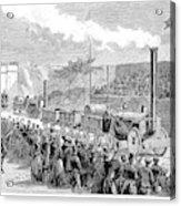 Locomotive Rocket, 1829 Acrylic Print