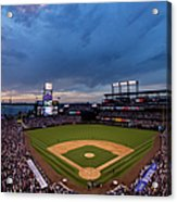 Los Angeles Dodgers V Colorado Rockies Acrylic Print
