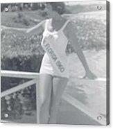 Miss Florida 1960 Acrylic Print