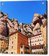 Monastery In Montserrat Acrylic Print