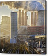 Neurath Power Station Germany Acrylic Print