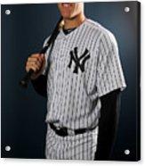 New York Yankees Photo Day Acrylic Print