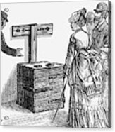 Newgate Prison, 1873 Acrylic Print