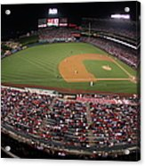 Oakland Athletics V. Los Angeles Angels Acrylic Print