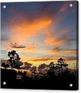 Outer Banks North Carolina Sunset Acrylic Print