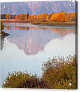 Oxbow Bend Grand Teton National Park Acrylic Print