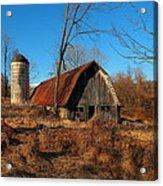 Paeonian Springs Barn Acrylic Print