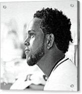 Philadelphia Phillies V Miami Marlins 6 Acrylic Print