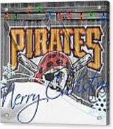 Pittsburgh Pirates Acrylic Print by Joe Hamilton