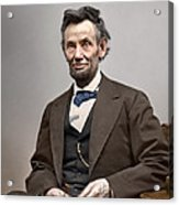 President Abraham Lincoln 6 Acrylic Print