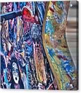 Rock N Roll Collection Acrylic Print