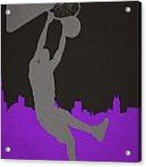 Sacramento Kings Acrylic Print
