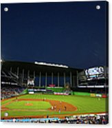 San Diego Padres V Miami Marlins Acrylic Print