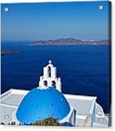 Santorini - Greece Acrylic Print