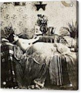 Sleeping Woman, C1900 Acrylic Print