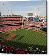 St. Louis Cardinals Vs. Cincinnati Reds Acrylic Print