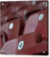 Stadium Seats Acrylic Print by Frank Gaertner