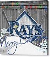 Tampa Bay Rays Acrylic Print