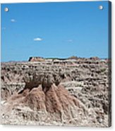 The Badlands Acrylic Print
