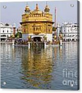 The Golden Temple At Amritsar India Acrylic Print