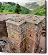 The Rock-hewn Churches Of Lalibela Acrylic Print