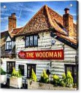 The Woodman Pub Acrylic Print