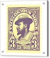Thelonious Monk -  The Unique Thelonious Monk Acrylic Print