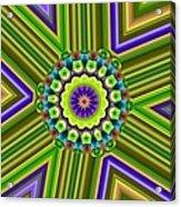 6 Triangle Design Acrylic Print
