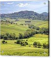 Tuscany - Montepulciano Acrylic Print