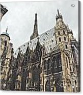 Vienna Austria Acrylic Print