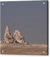 White Desert Acrylic Print