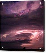 Wicked Good Nebraska Supercell Acrylic Print